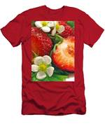 Strawberries And Vanilla Men's T-Shirt (Athletic Fit)