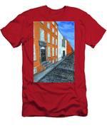 Street In Dublin Men's T-Shirt (Athletic Fit)