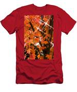 Sunlight Through The Leaves Men's T-Shirt (Athletic Fit)