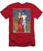 Tarot 6 The Lovers Men's T-Shirt (Athletic Fit)
