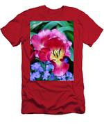 The Beauty Of Flowers Men's T-Shirt (Athletic Fit)