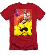 The Concert In The Flower Miniature Art Men's T-Shirt (Athletic Fit)