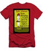 Tom Seaver Cincinnati Reds Men's T-Shirt (Athletic Fit)