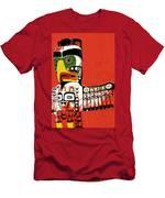 Totem Pole 02 Men's T-Shirt (Athletic Fit)