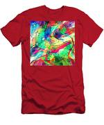 Tracings2 Men's T-Shirt (Athletic Fit)