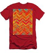 Tribal Pattern 019 Men's T-Shirt (Athletic Fit)