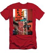 Tribute To Little Italy - Hester And Mulberry Sts - N Y Men's T-Shirt (Athletic Fit)