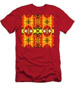 Tropical Leaf Pattern 4 Men's T-Shirt (Athletic Fit)