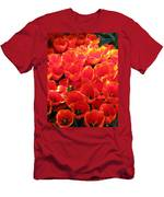 Tulips - Field With Love 28 Men's T-Shirt (Athletic Fit)
