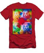 Tupac V Warhol Men's T-Shirt (Athletic Fit)
