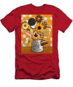Vincent's Sunflower Cookie Jar Men's T-Shirt (Athletic Fit)