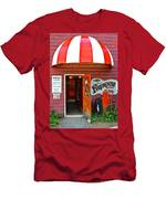 Winery Entrance Men's T-Shirt (Athletic Fit)