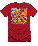 0693 Abstract Thought Men's T-Shirt (Athletic Fit)
