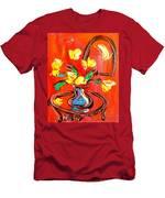Tulips Men's T-Shirt (Athletic Fit)