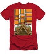 Architectural Detail Of Wat Pho Temple Men's T-Shirt (Athletic Fit)