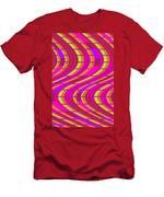 Bold Swirl  Men's T-Shirt (Athletic Fit)