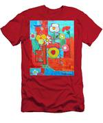 Colorful Summer  Men's T-Shirt (Athletic Fit)