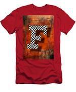 F Men's T-Shirt (Athletic Fit)