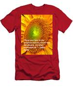 Face To The Sun Men's T-Shirt (Athletic Fit)