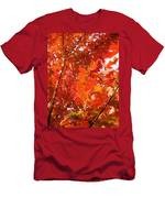Flaming Maples Men's T-Shirt (Athletic Fit)