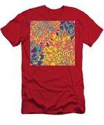 Floral Abstraction 22 Men's T-Shirt (Athletic Fit)