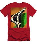 Giant Swallowtail Butterfly Men's T-Shirt (Athletic Fit)
