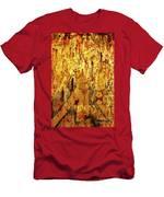Grafitti Detail Men's T-Shirt (Athletic Fit)