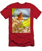 Great Spangled Fritillary Butterfly Men's T-Shirt (Athletic Fit)
