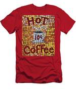 Hot Coffee 10cents Men's T-Shirt (Athletic Fit)