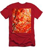 Japanese Maple Leaves 12 In The Fall Men's T-Shirt (Athletic Fit)