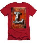 L Men's T-Shirt (Athletic Fit)