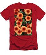 Merry Marigolds Men's T-Shirt (Athletic Fit)