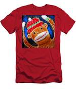 Monkey Sock Around Men's T-Shirt (Athletic Fit)