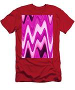 Moveonart Moodwaves Men's T-Shirt (Athletic Fit)