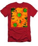 Pop Art Daisies 13 Men's T-Shirt (Athletic Fit)