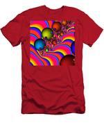Rainbow Universe Men's T-Shirt (Athletic Fit)
