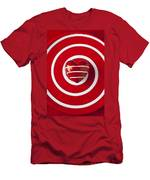 Red Heart Soft Stone Men's T-Shirt (Athletic Fit)