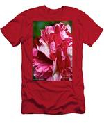 Red Speckled Rose Men's T-Shirt (Athletic Fit)