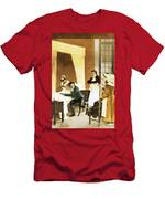 Rene Laennec, French Physician Men's T-Shirt (Athletic Fit)