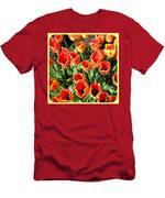 Skagit Valley Tulips 10 Men's T-Shirt (Athletic Fit)