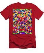 Space Bubbles Men's T-Shirt (Athletic Fit)