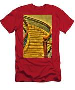 Stairs Hdr Processing Men's T-Shirt (Athletic Fit)
