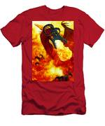 The Fire Dragon Men's T-Shirt (Athletic Fit)