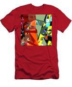 Tower Series 44 Tangerine Picnic Men's T-Shirt (Athletic Fit)