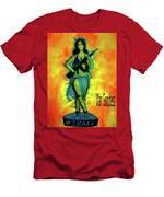 War Goddess Men's T-Shirt (Athletic Fit)