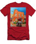 Beautiful Synagogue On Bagg Street Men's T-Shirt (Athletic Fit)