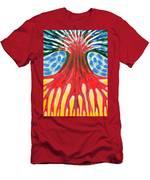 I Be Burning-hot Men's T-Shirt (Athletic Fit)