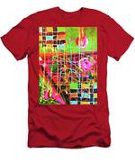 Abstract Colorful Men's T-Shirt (Athletic Fit)