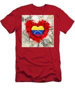 Love Venezuela Men's T-Shirt (Athletic Fit)