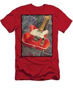 Red Telecaster Men's T-Shirt (Athletic Fit)
